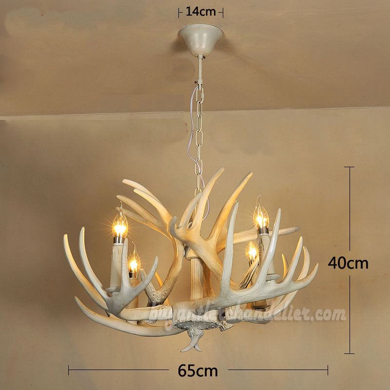 Pure white deer antler chandelier ceiling lights rustic lighting pure white antler chandelier 4 lamp holders ceiling lights rustic lighting fixtures 256 x 157 inches mozeypictures Image collections