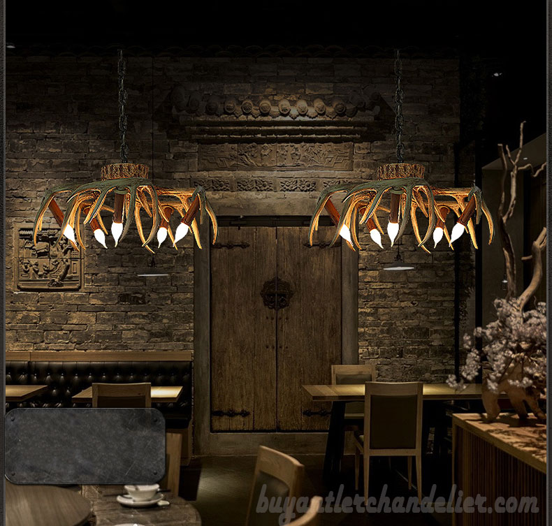 5 cast deer antler chandelier inverted hanging ceiling lights buy 5 cast deer antler chandelier inverted hanging ceiling candelabra lights rustic lighting fixtures mozeypictures Gallery