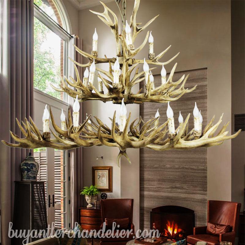 59 elk deer 24 antler chandelier 12 8 4 3 tiers rustic pendant 59 inch elk deer 24 antler chandelier 12 8 4 cast cascade candle aloadofball Image collections