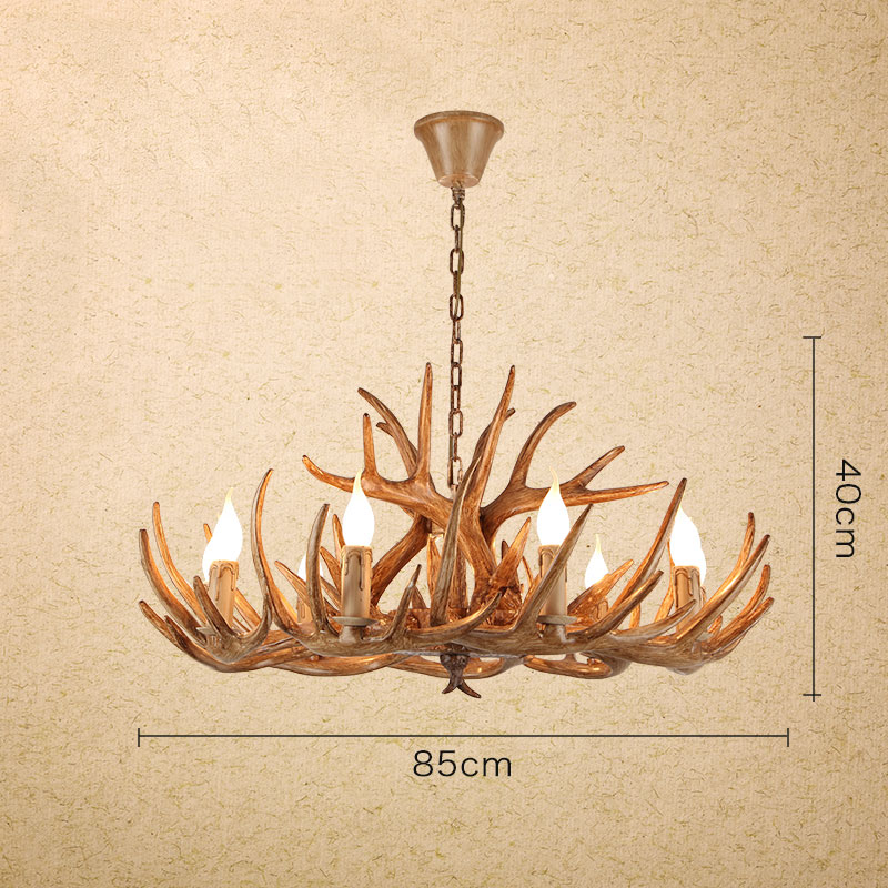 Antique 12 Whitetail Deer Antler Chandelier 9 Candelabra Ceiling Lights 2 Tiers Cascade Rustic Lighting Fixtures
