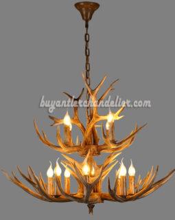 buy lighting fixtures. Buy 12 Deer Antler Chandelier 8 + 4 Cast Cascade Candle-Style Rustic Lighting Fixtures