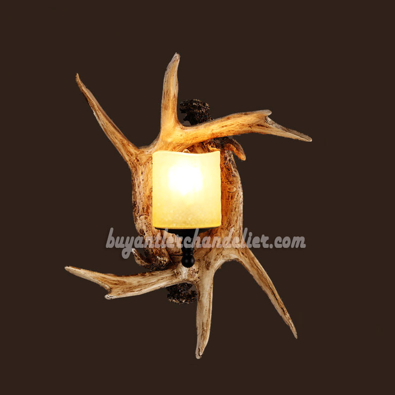 collection antlers sconce wall lights antler in and electric sconces