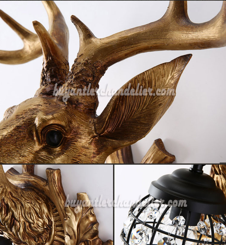 moose sconce product sconces river view mad antler front