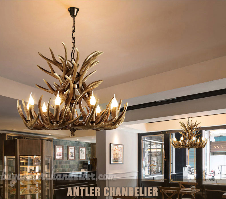 Super 18 Cast Elk Antler Chandelier Cascade 9 Candle Style Pendant Lights Rustic Ceiling Lighting Home Decor Fixtures Home Interior And Landscaping Ponolsignezvosmurscom