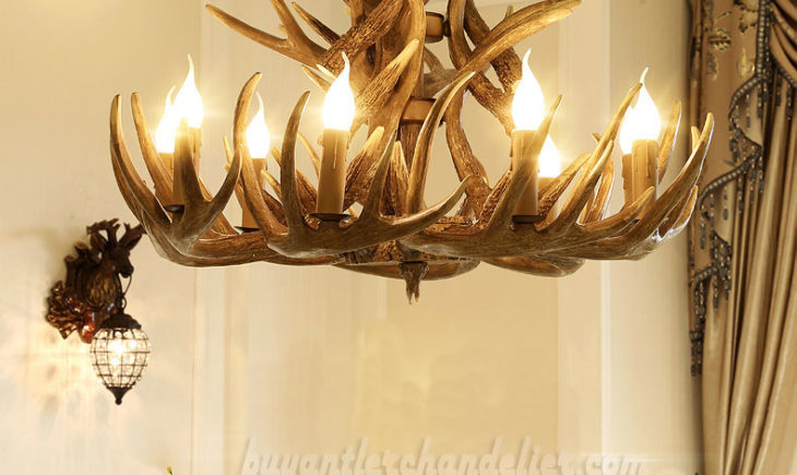 Ideas on How to Decorate Home With Antler Chandelier and Wall ...