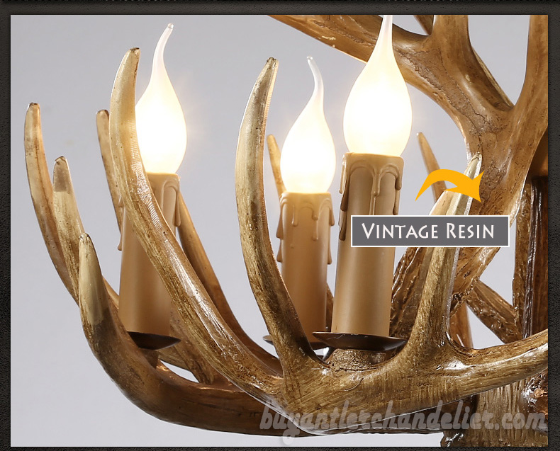 15 cast antler chandelier 9 6 ceiling lights rustic lighting vintage 15 cast antler chandelier 9 6 nine candle style ceiling lights cascade rustic mozeypictures Images