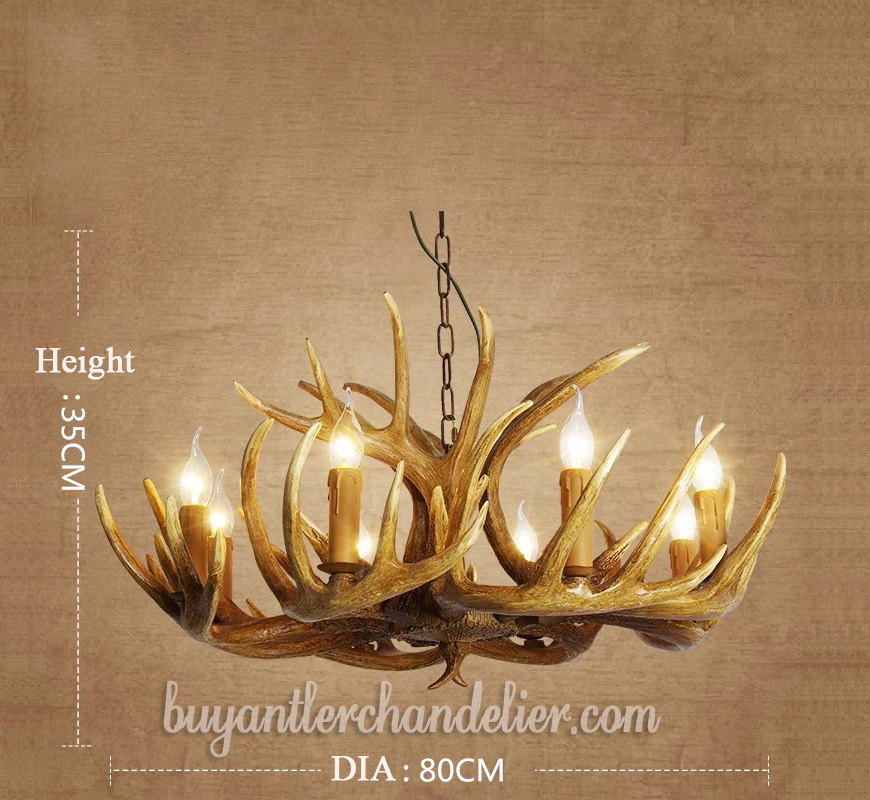 Antler Chandeliers Pendant Lights For Dinning Room